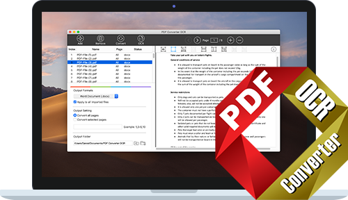 PDF Converter OCR for Mac