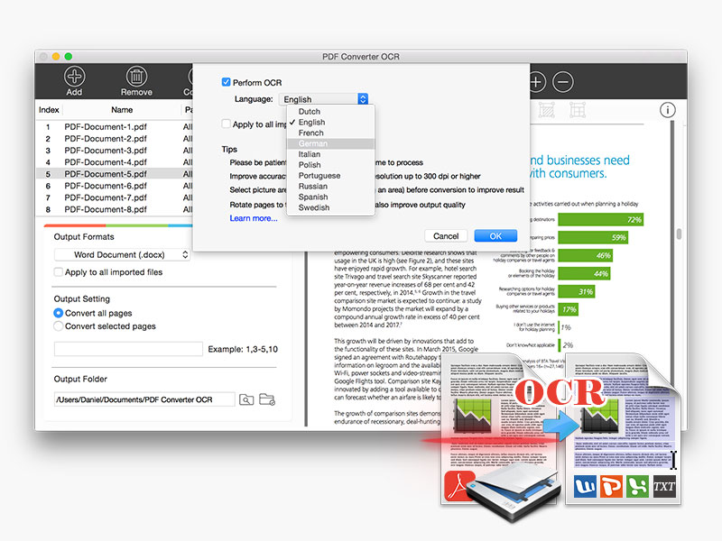 PDF Converter OCR for Mac Screenshot 3
