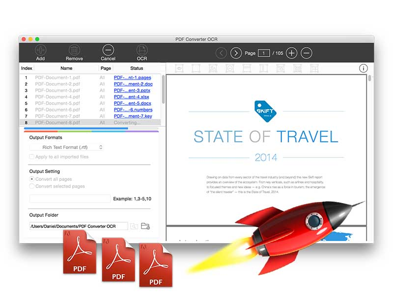 PDF Converter OCR for Mac Screenshot 4