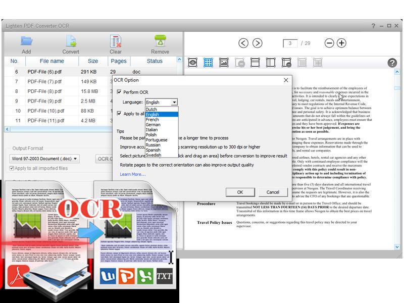PDF Converter OCR Mac 破解版 PDF文件转换工具