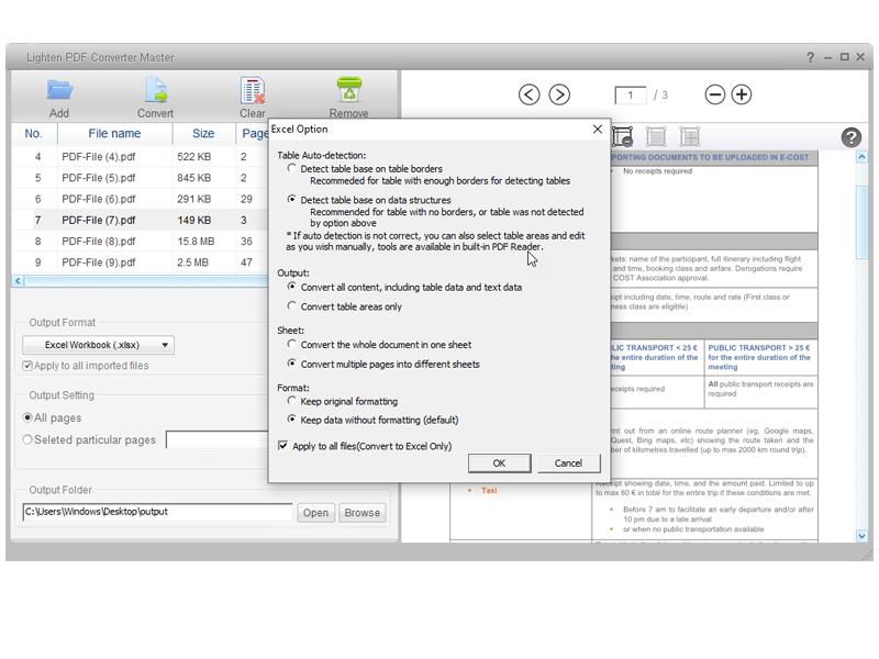 pdf converter master screenshot 5