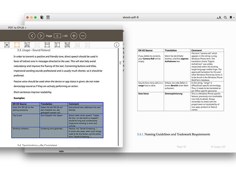 PDF to EPUB for Mac screenshot 4
