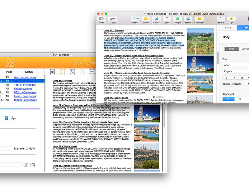 pdf to pages screenshot 2