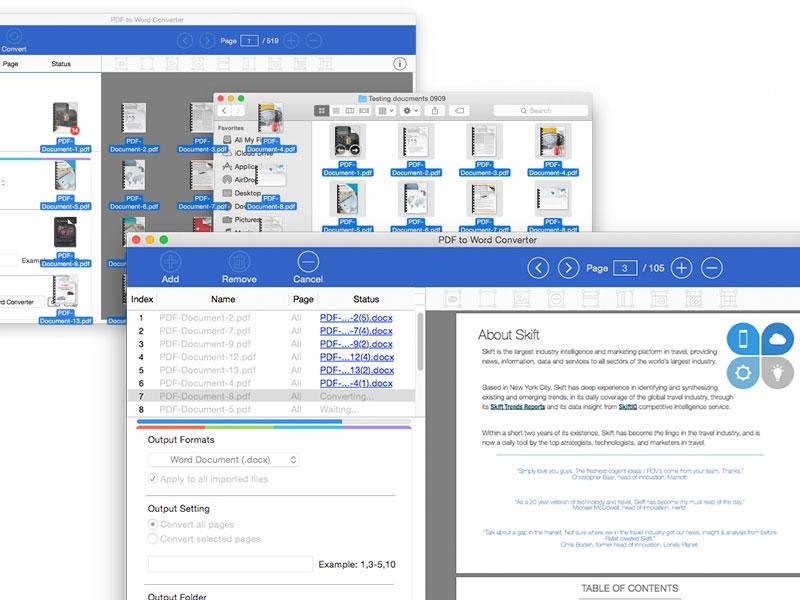 PDF to Word Converter for Mac screenshot 4