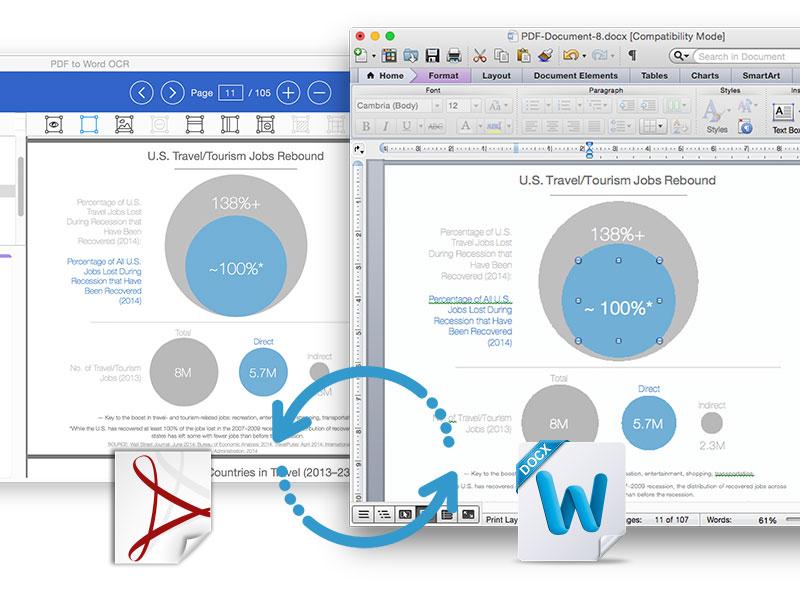 PDF to Word OCR for Mac Screenshot 2