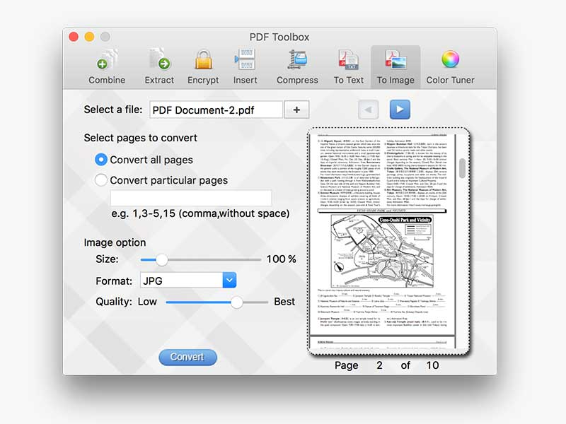 PDF toolbox for Mac screenshot 5
