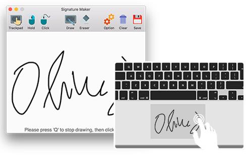 Siganture Maker for Mac Screenshot