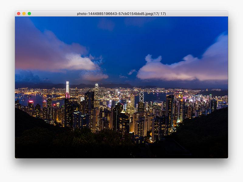 image viewer Mac screenshot 1