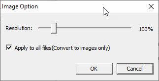 pdf converter ocr image options screenshot