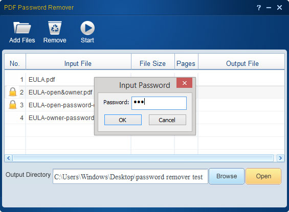 pdf password remover screenshot 4