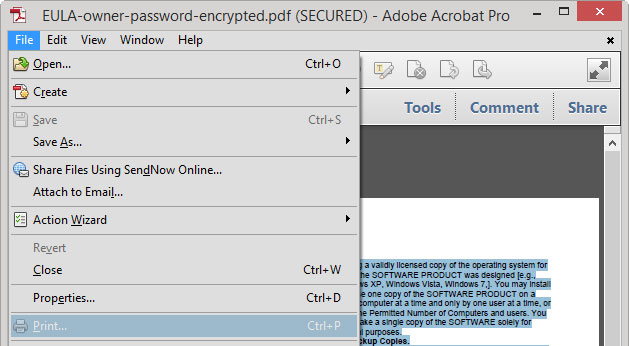 pdf password remover screenshot 8