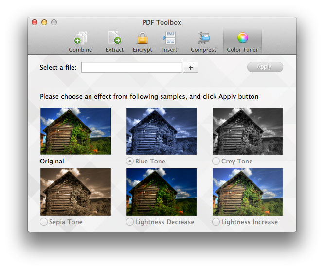 pdf toolbox mac screenshot 1
