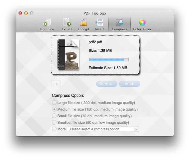 pdf toolbox mac screenshot 5