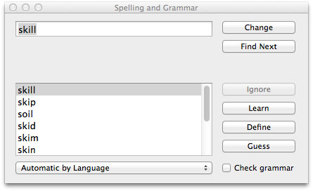 text extractor check spelling 2